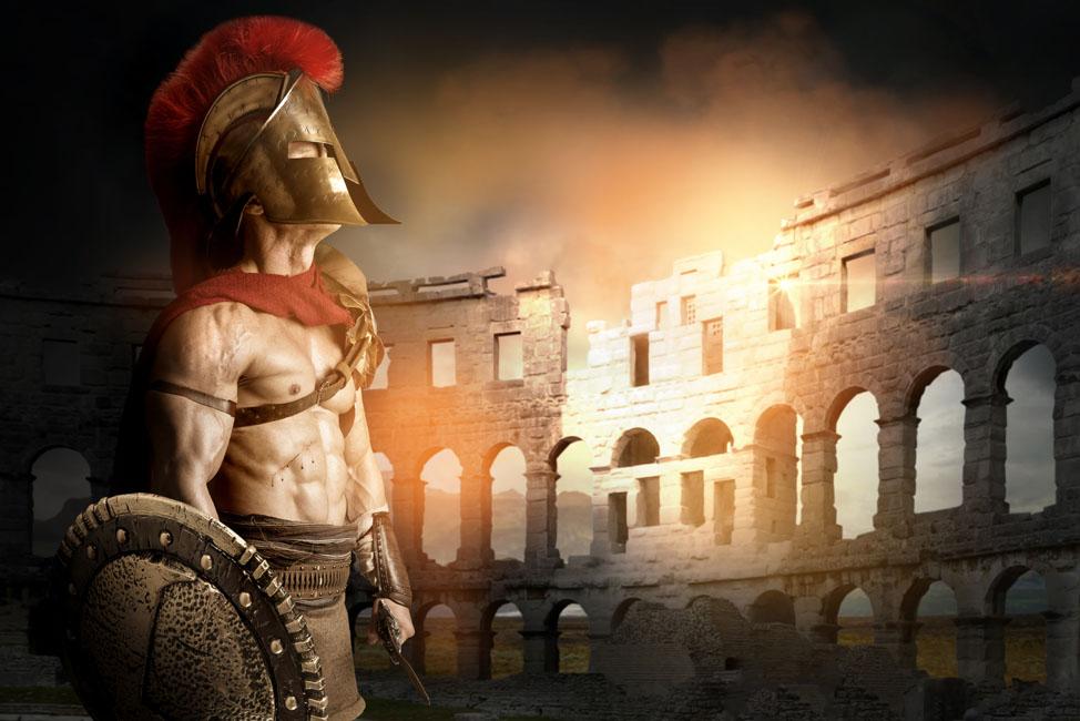 Espartaco Y Las Leyendas De Gladiadores Del Coliseo