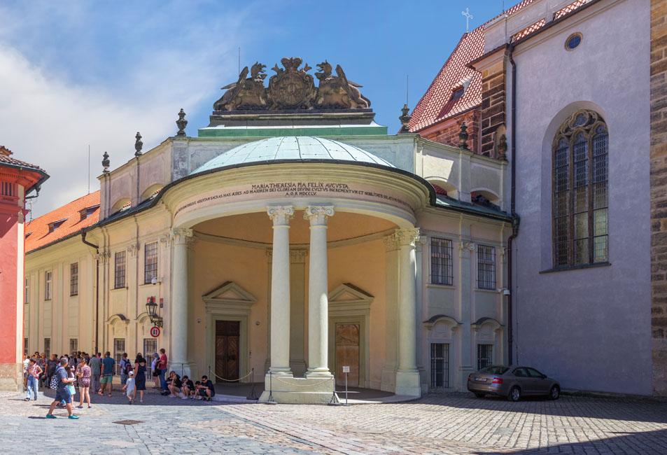 El Distrito Del Castillo De Praga
