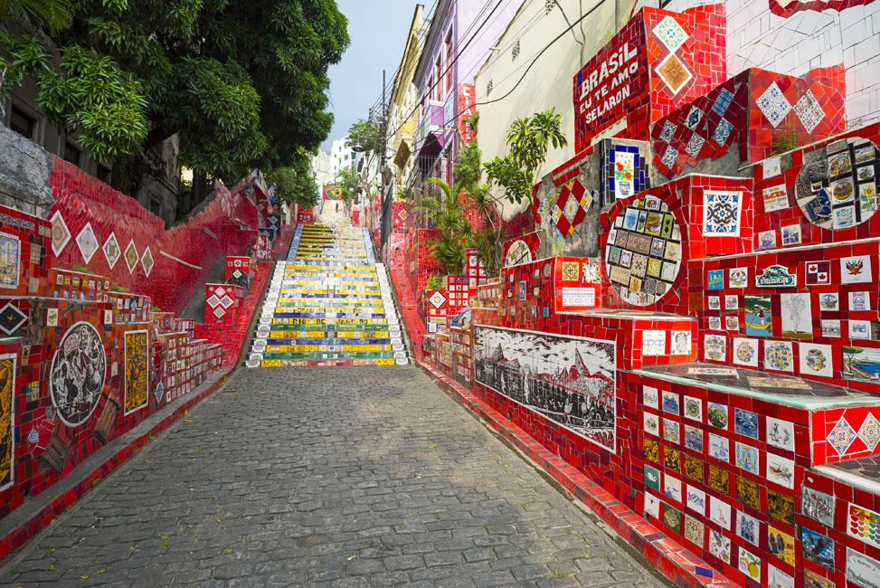 Santa Teresa And Selaron Steps